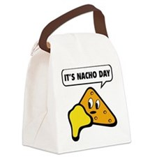 It's Nacho Day Canvas Lunch Bag