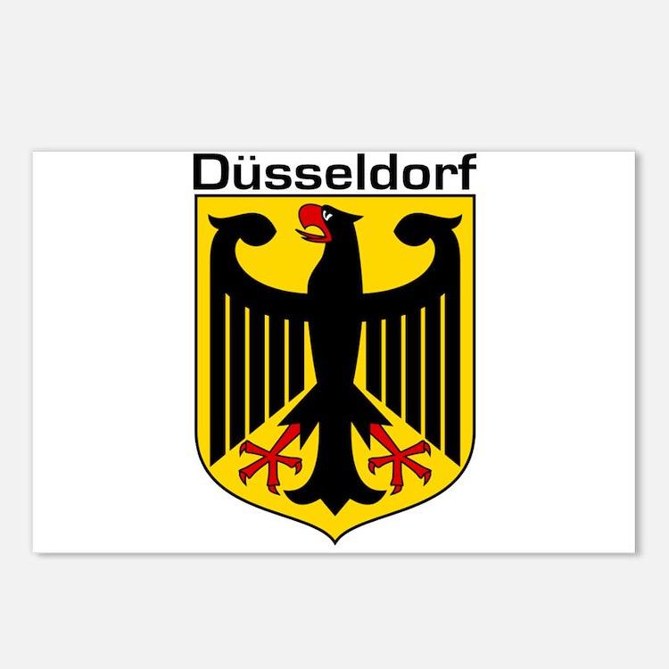 Dusseldorf, Germany Postcards (Package of 8)