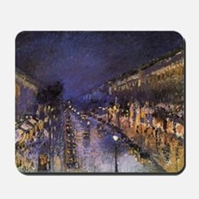 Boulevard Montmartre at Night Mousepad