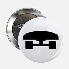 """Skateboard logo icon 2.25"""" Button"""