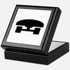 Skateboard logo icon Keepsake Box