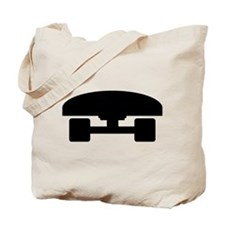 Skateboard logo icon Tote Bag