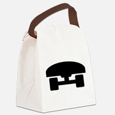 Skateboard logo icon Canvas Lunch Bag