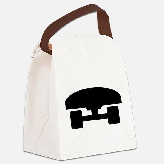 Skateboard logo icon Canvas Lunch Bag