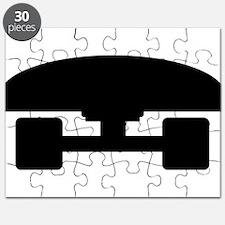 Skateboard logo icon Puzzle