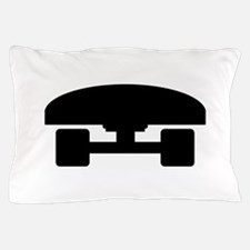 Skateboard logo icon Pillow Case