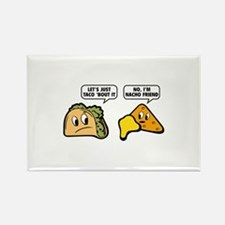 Let's Just Taco 'Bout It Rectangle Magnet