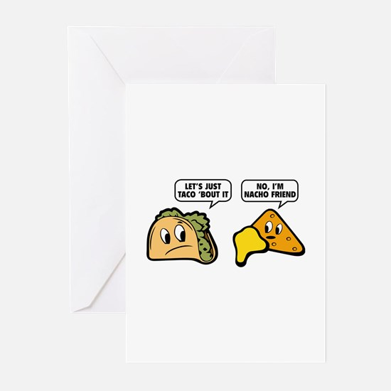 Let's Just Taco 'Bout It Greeting Cards (Pk of 20)