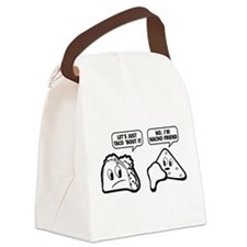 Let's Just Taco 'Bout It Canvas Lunch Bag