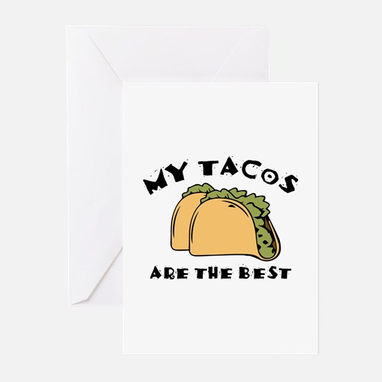 My Tacos Are The Best Greeting Cards (Pk of 20)