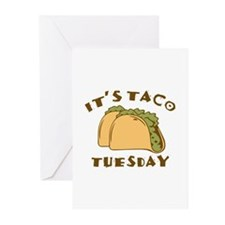 It's Taco Tuesday Greeting Cards (Pk of 10)