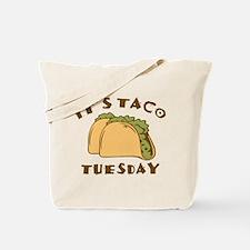 It's Taco Tuesday Tote Bag