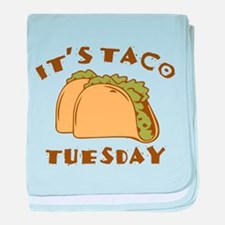 It's Taco Tuesday baby blanket