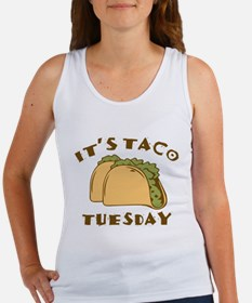 It's Taco Tuesday Women's Tank Top