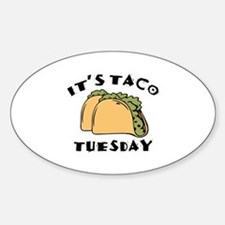 It's Taco Tuesday Decal