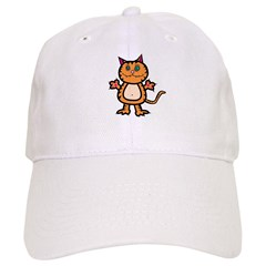 Fierce Cat Baseball Cap