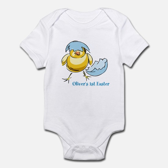 Personalized Hatching Chick Infant Bodysuit