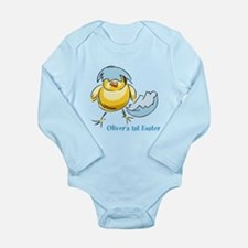 Personalized Hatching Long Sleeve Infant Bodysuit