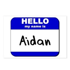 hello my name is aidan  Postcards (Package of 8)