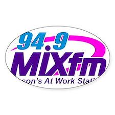 94.9 MIXfm Logo Decal