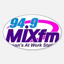 94.9 MIXfm Logo Decal