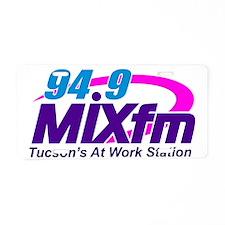 94.9 MIXfm Logo Aluminum License Plate
