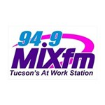 94.9 Mixfm Logo 35x21 Wall Decal