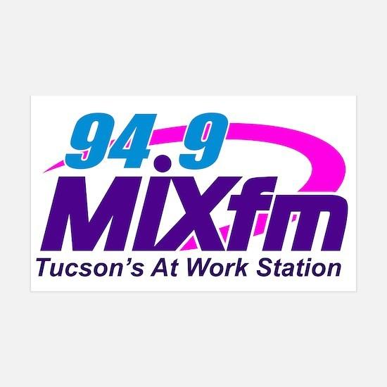 94.9 Mixfm Logo Wall Decal