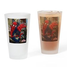 Ultimate Spider-Man Drinking Glass