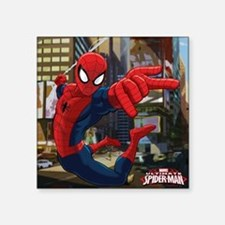 "Ultimate Spider-Man Square Sticker 3"" x 3"""