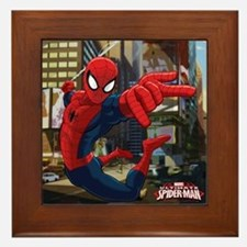 Ultimate Spider-Man Framed Tile