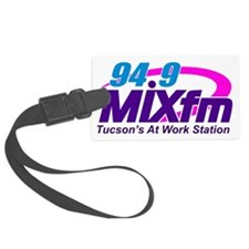 Large MIXfm Logo 2014 Luggage Tag