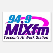 Large MIXfm Logo 2014 Decal