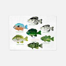 7 Sunfish 5'x7'Area Rug