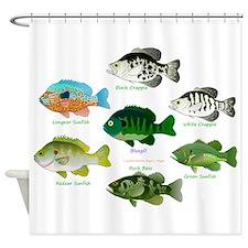 7 Sunfish Shower Curtain