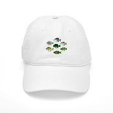 7 Sunfish c Baseball Baseball Cap