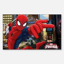 Ultimate Spider-Man Sticker (Rectangle)