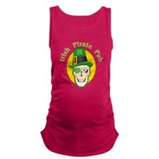 Irish Pirate Pub Maternity Tank Top