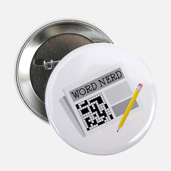 "Word Nerd 2.25"" Button"