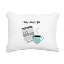 This Just In... Rectangular Canvas Pillow