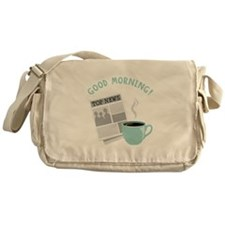 Good Morning! Messenger Bag