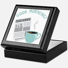 Good Morning! Keepsake Box