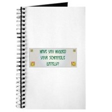 Hugged Schnoodle Journal