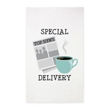 Special Delivery 3'x5' Area Rug