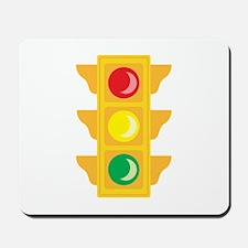Traffic Signal Light Mousepad