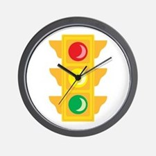 Traffic Signal Light Wall Clock