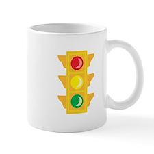 Traffic Signal Light Mugs