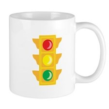Traffic Signal Light Mugs