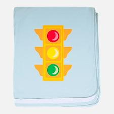 Traffic Signal Light baby blanket