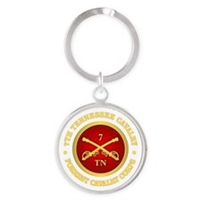 7th Tennessee Cavalry Keychains